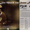 Stummfilm mit Live- Musik von Sasan Azodi